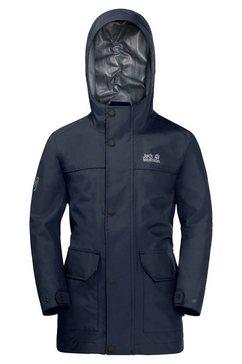 jack wolfskin parka banner jacket blauw