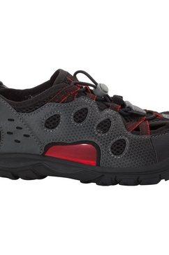 jack wolfskin sandalen »titicaca low k« zwart