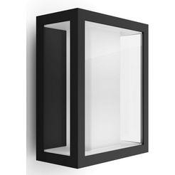 philips hue led-wandlamp voor buiten »impress«, zwart