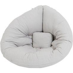 karup design fauteuil »mini hippo« grau