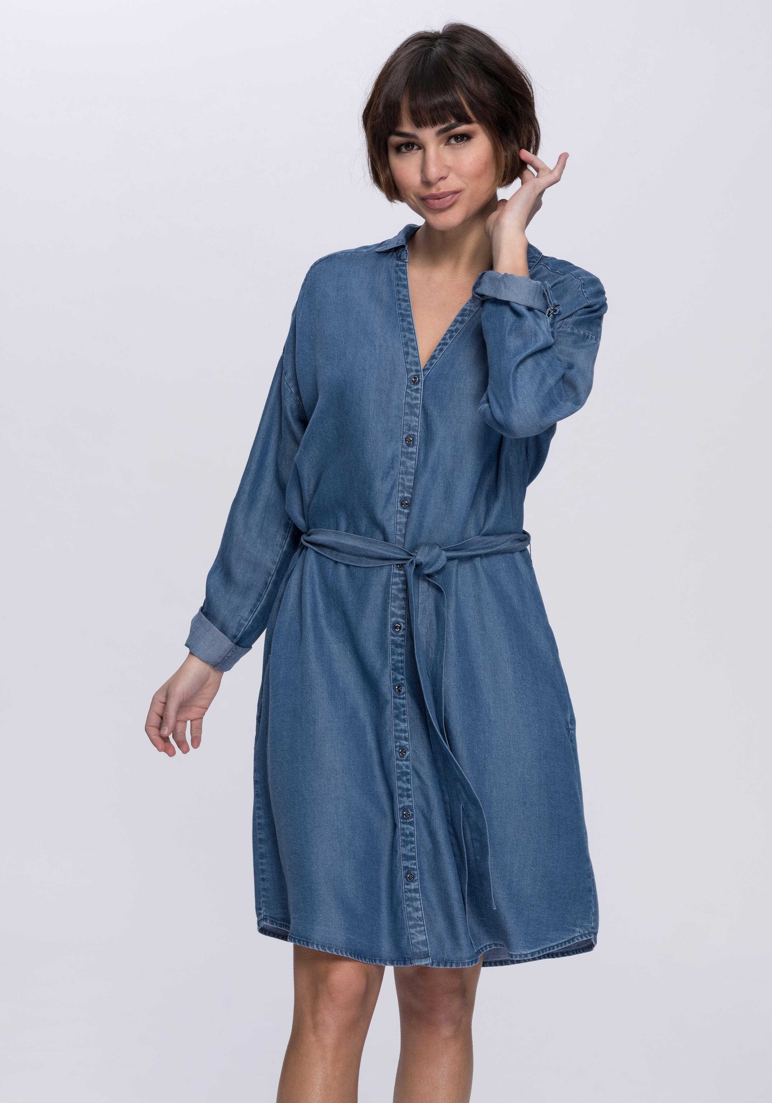 d13624618c7995 edc by Esprit jurk met overhemdkraag in de online shop