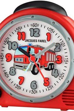 jacques farel wekker, »happy sound, avc 02fire« rood