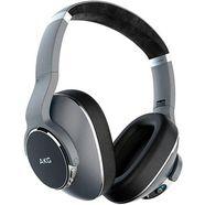 akg »n700nc« over-ear-hoofdtelefoon (bluetooth, ruisonderdrukking, ingebouwde microfoon) zilver