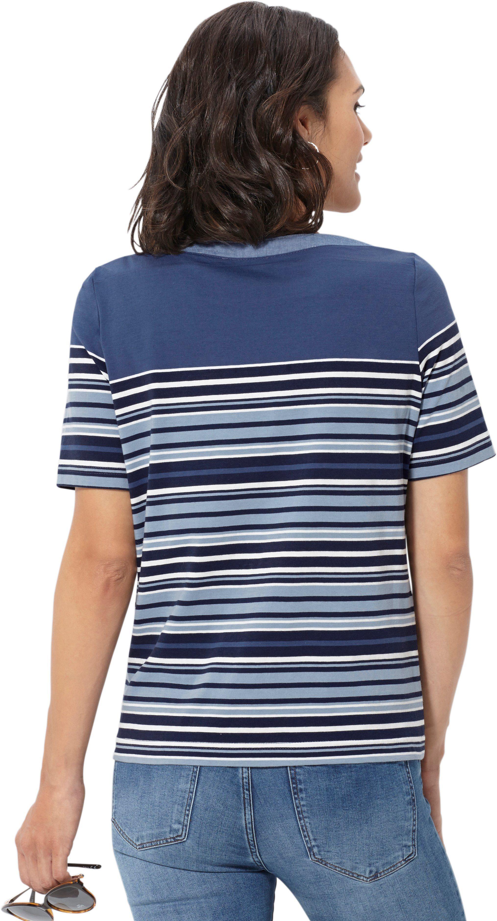 Casual Looks Shirt Met Sierknoop Bij De Hals Makkelijk Gekocht - Geweldige Prijs