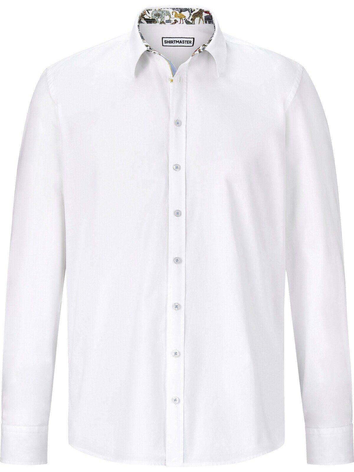 Shirtmaster Overhemd Met Lange Mouwen Âsleepingtigerâ Nu Online Bestellen - Geweldige Prijs