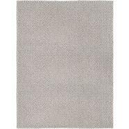 wollen vloerkleed, »morton«, wohnidee, rechthoekig, hoogte 12 mm, met de hand geweven grijs