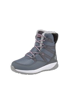 jack wolfskin outdoor-winterlaarzen »polar wolf texapore high k« grijs