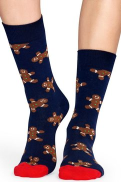 happy socks sokken blauw