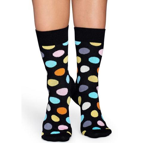 Happy Socks Sokken Socks Big Dot Zwart