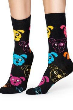 happy socks sokken dog zwart