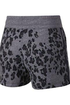 nike sportswear short »woman nike sportswear gym vintage shorts« grijs