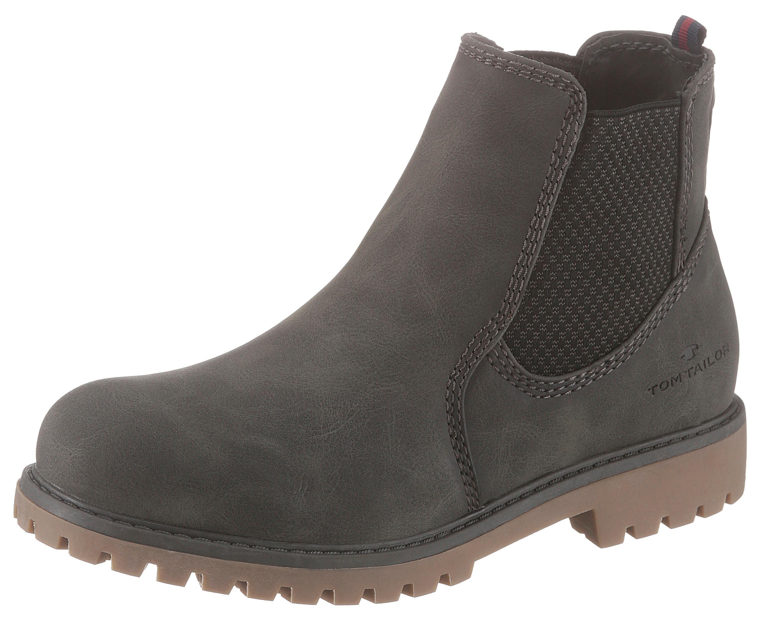 TOM TAILOR chelsea-boots nu online kopen bij OTTO