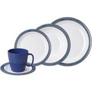 waca combi-servies 'bistro' (10-delig) blauw