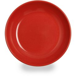 waca bord ideaal voor kinderen, melamine, oe 19 cm (set, 4 stuks) rood