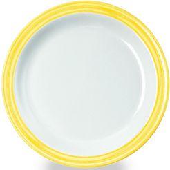 waca ontbijtbordje 'bistro' (set van 4) geel