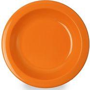 waca diep bord (set van 4) oranje