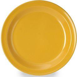 waca ontbijtbordje (set van 4) geel