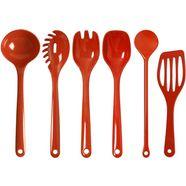 waca set keukengerei (set, 6-delig) rood