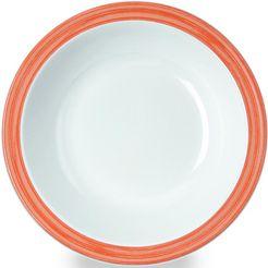 waca diep bord 'bistro' (set van 4) oranje