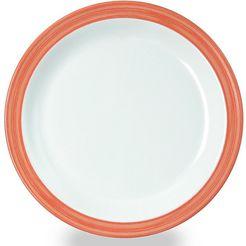 waca ontbijtbordje 'bistro' (set van 4) oranje