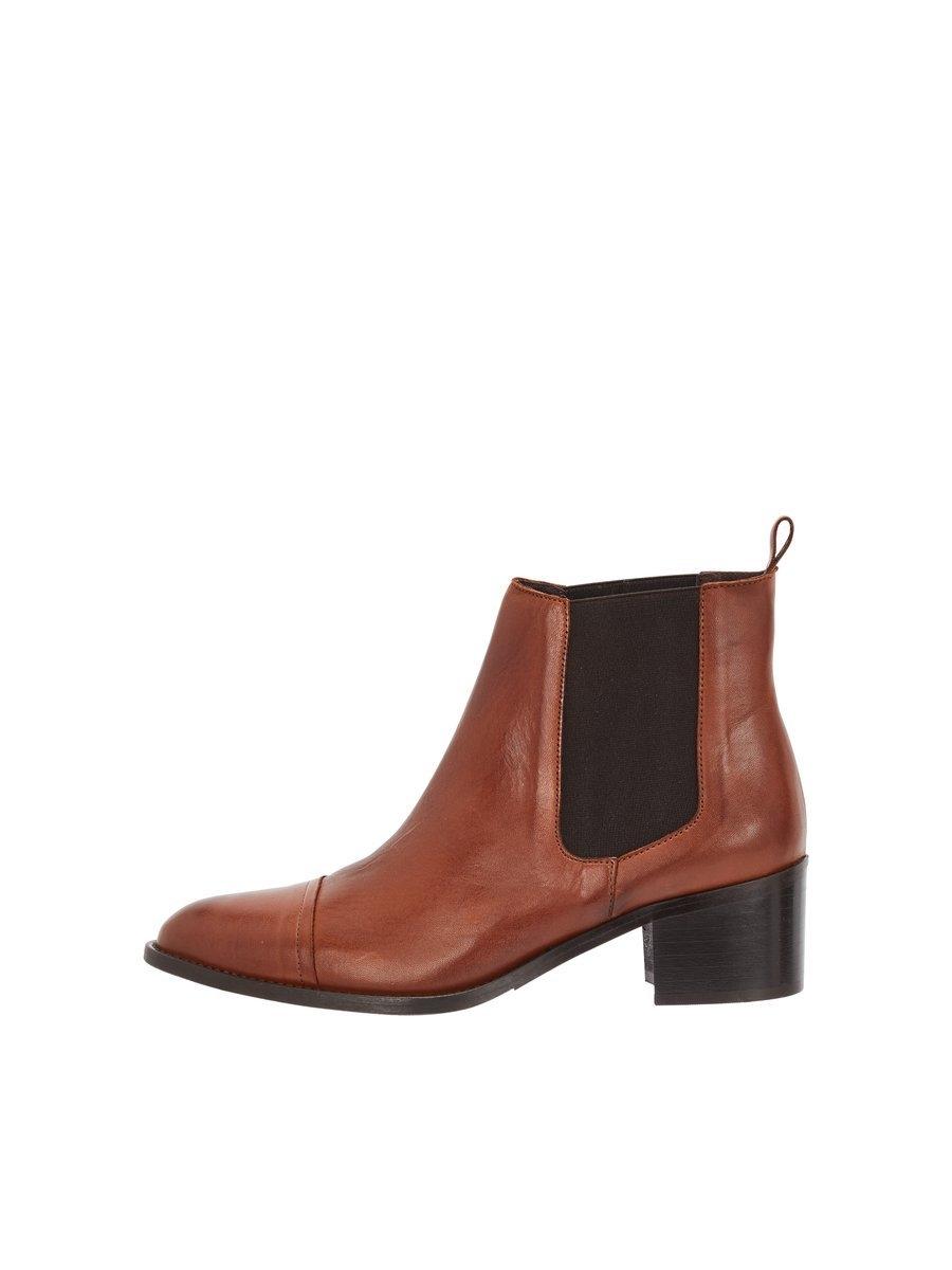 Online Boots Gekocht Leren Bianco Snel Chelsea xrdBeCo