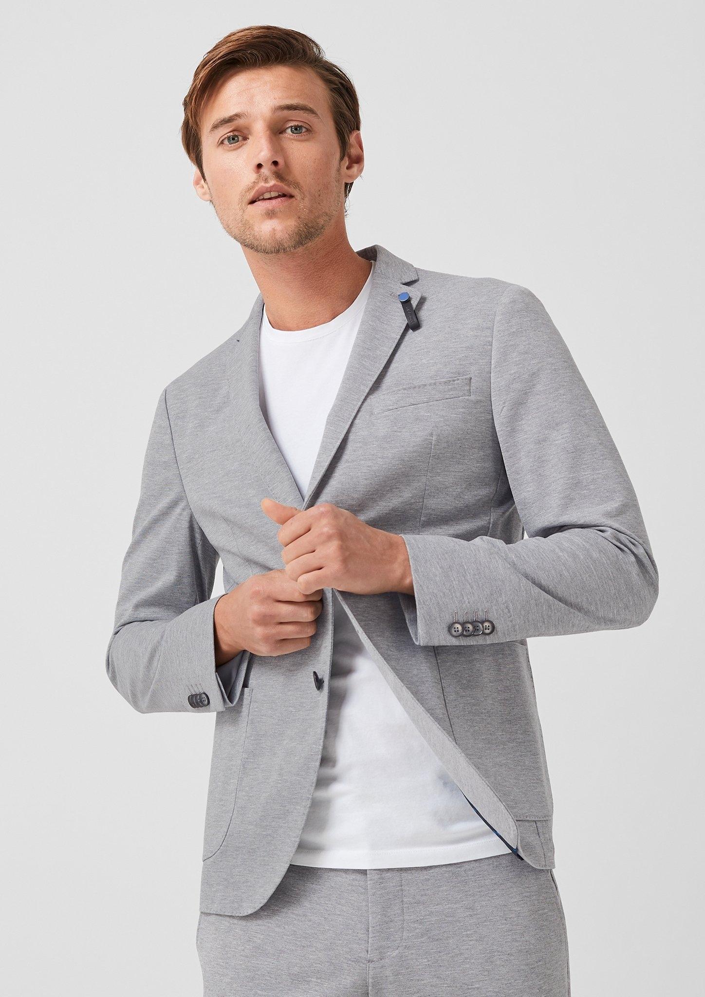 Label In oliver Online De S Winkel Black SlimGemêleerd Jogg Colbert Suit clFJT1K