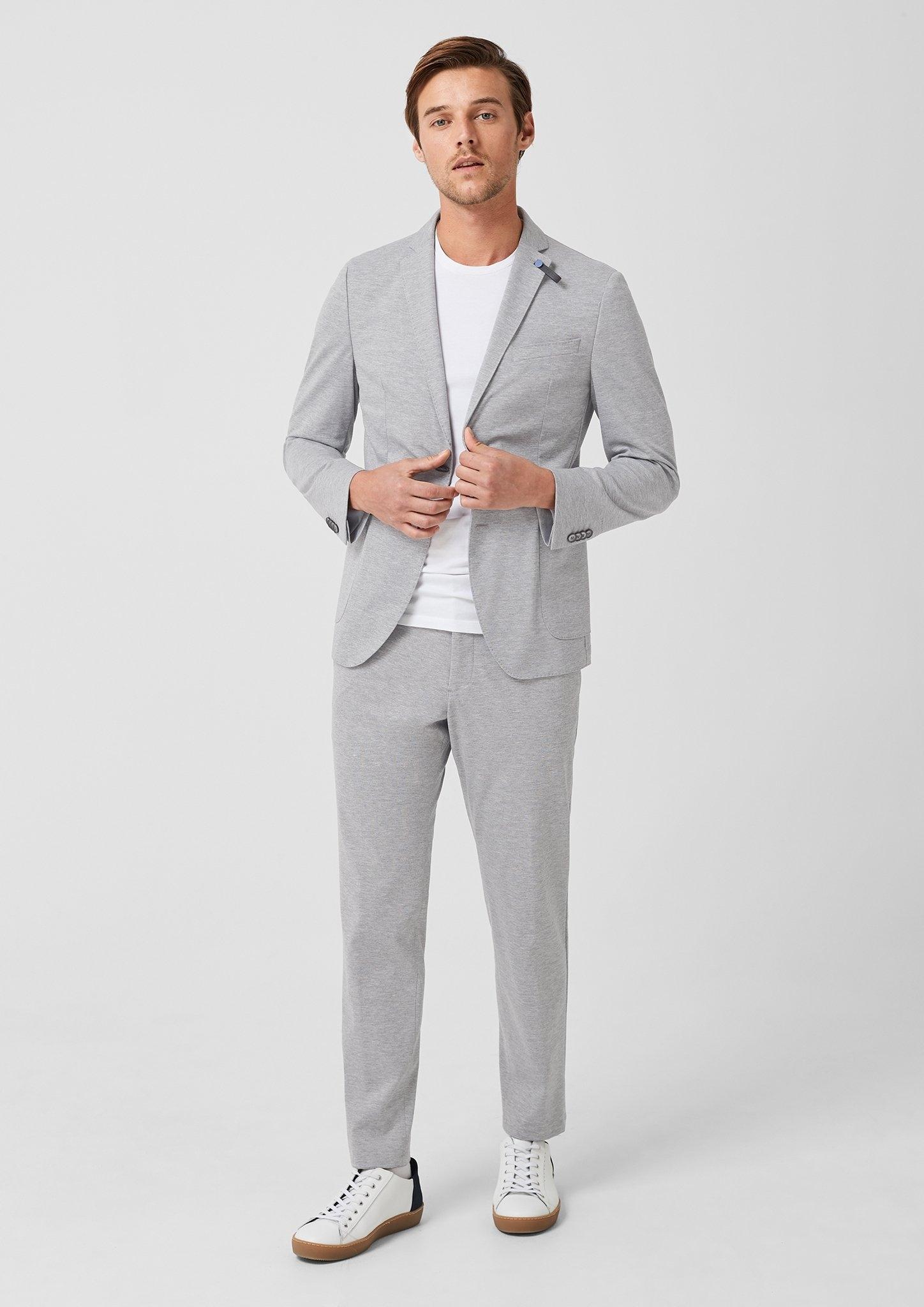 s.Oliver BLACK LABEL Slim: gemêleerde jogg suit broek - verschillende betaalmethodes