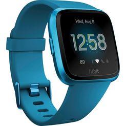 fitbit versa lite smartwatch (3,4 cm) blauw