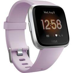 fitbit versa lite smartwatch (3,4 cm) paars