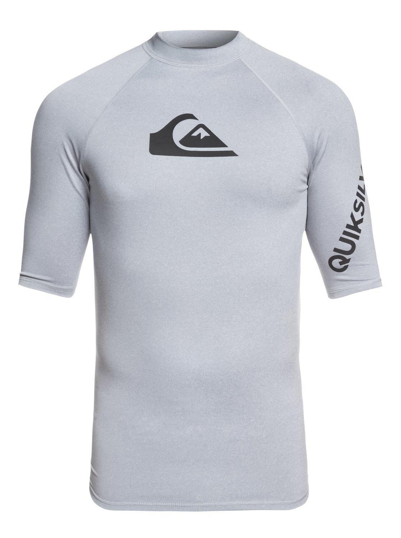 Quiksilver - All Time - Rash Vest met Korte Mouwen en UPF 50 voor Heren bij OTTO online kopen