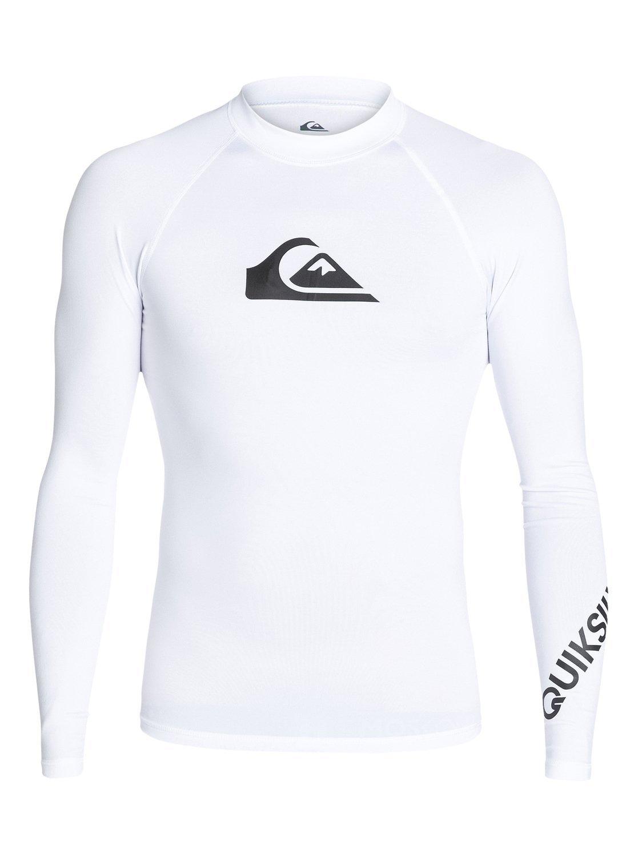 Quiksilver - All Time - Rash Vest met Lange Mouwen en UPF 50 voor Heren goedkoop op otto.nl kopen