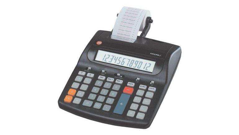 Triumph Adler Twen Bureaurekenmachine met printer »4212PD L«
