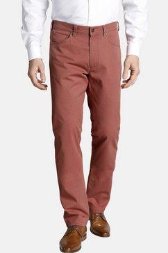 charles colby broek met 5 zakken »catigern« rood