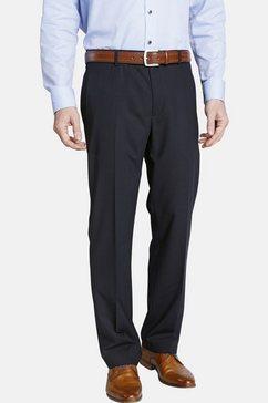 charles colby broek met bandplooien »finian« blauw