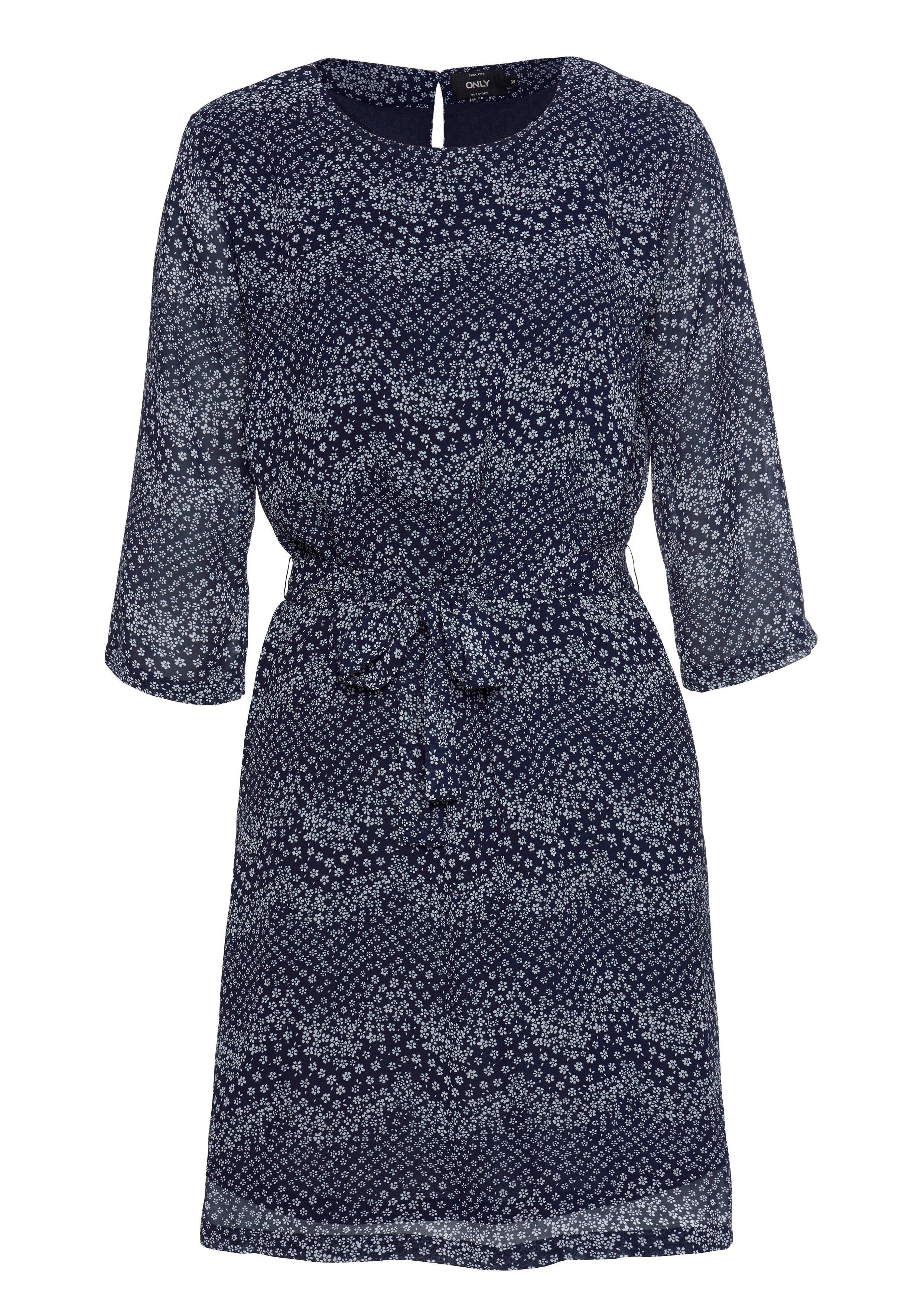 ONLY gedessineerde jurk »STAR« voordelig en veilig online kopen