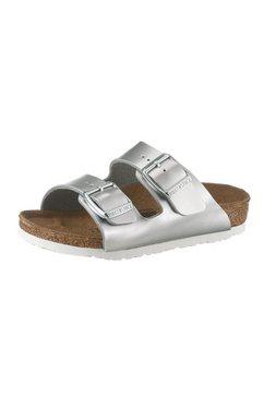 birkenstock slippers »arizona bf electric metallic« zilver