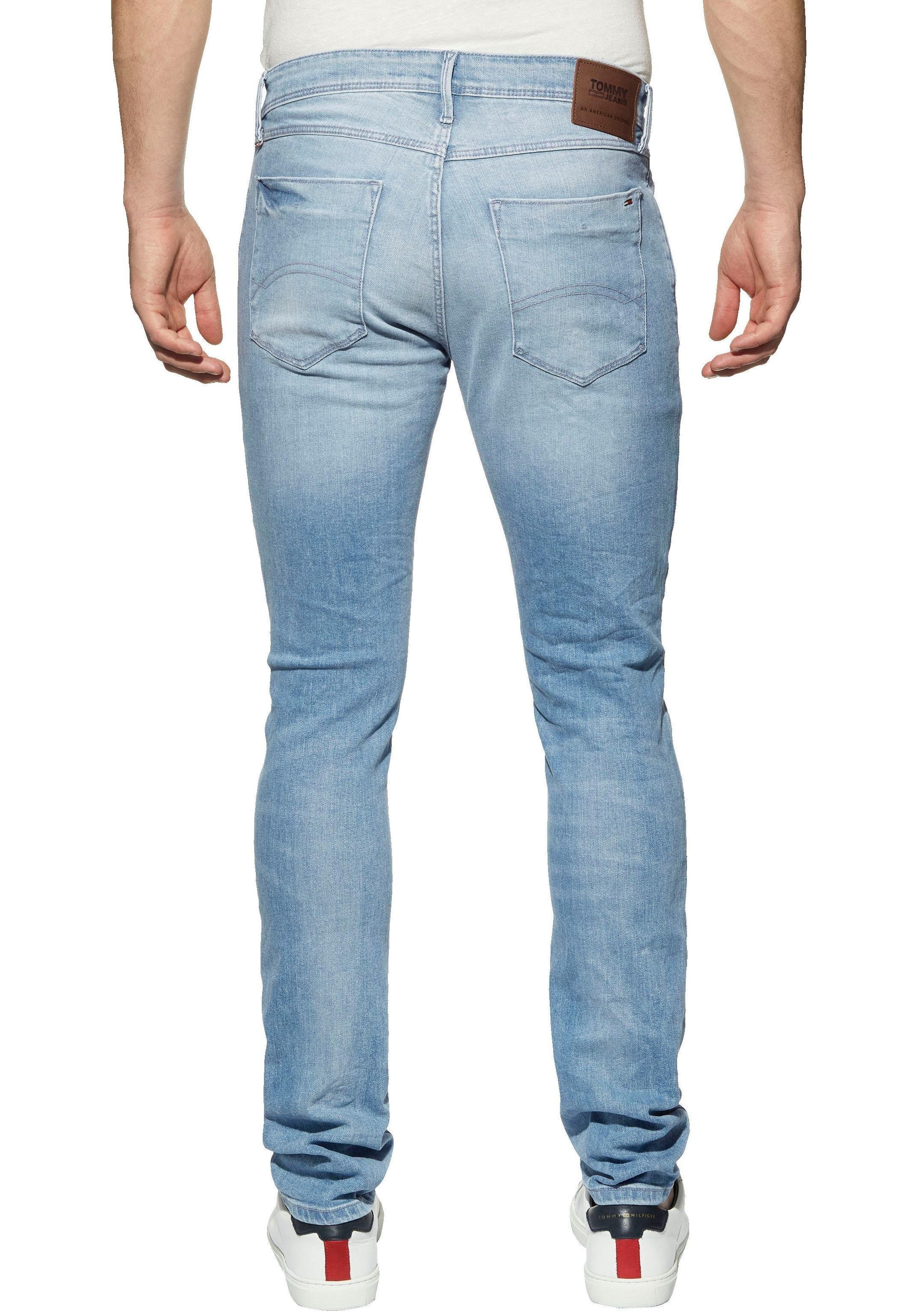 TOMMY JEANS tapered jeans SLIM TAPERED AUSTIN goedkoop op otto.nl kopen