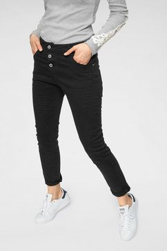 please jeans 5-pocket jeans »p78a« zwart