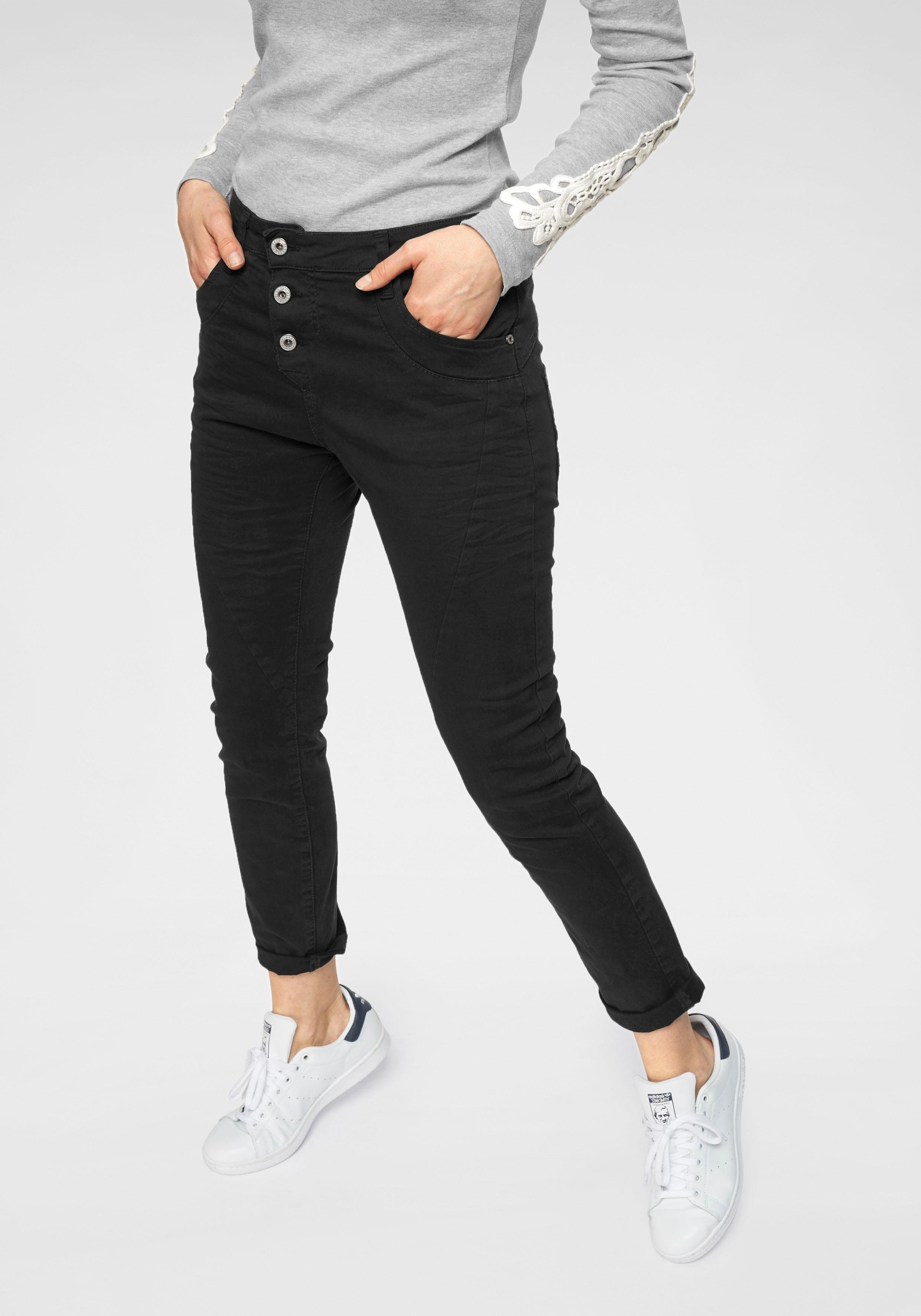Please Jeans 5-pocketsjeans P78A casual boyfriend jeans in lichte krinkel-look, met omslag aan de pijpen bestellen: 30 dagen bedenktijd