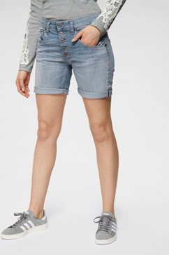 please jeans jeansbermuda blauw