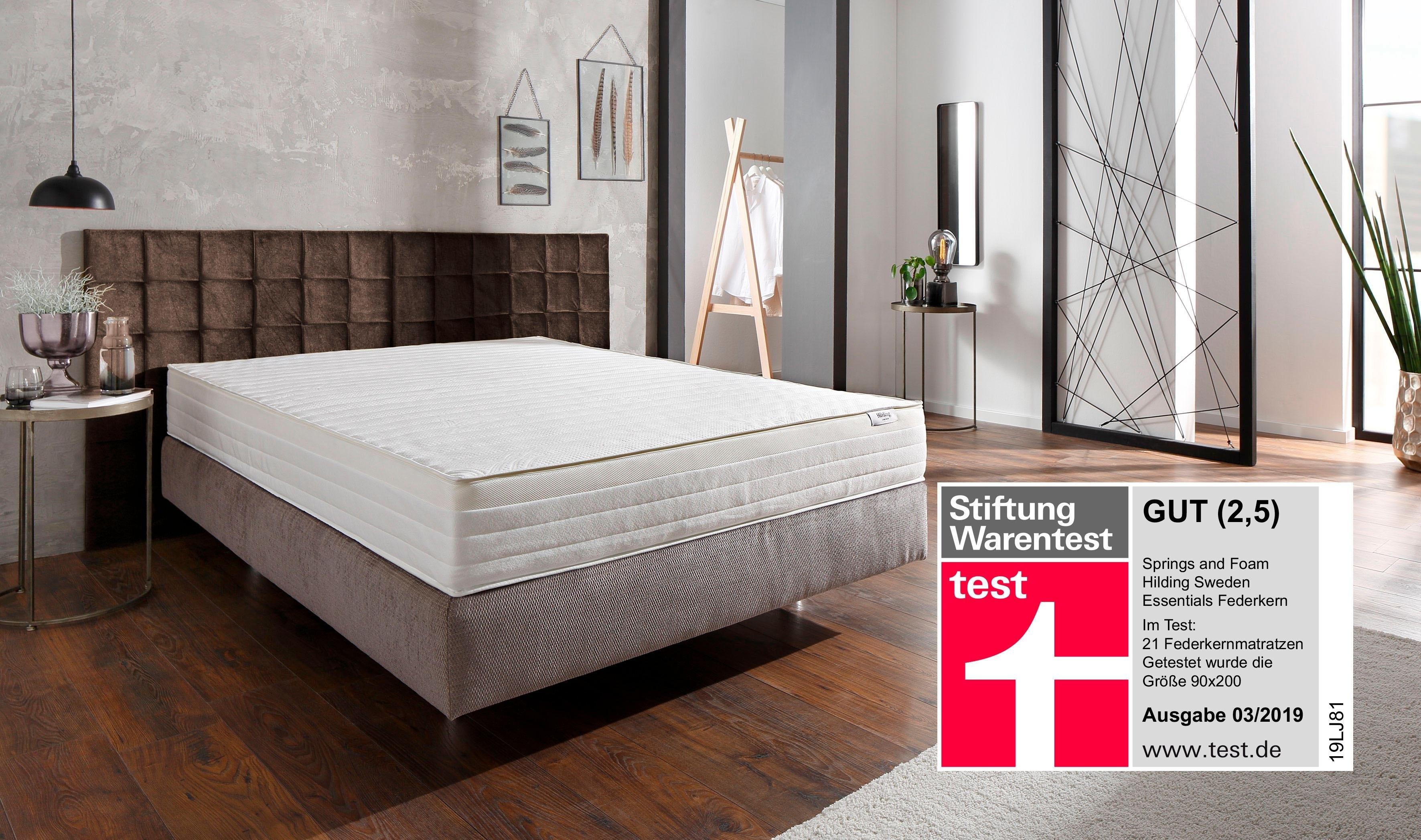 Hilding Sweden Pocketveringsmatras »Essentials«, 21,5 cm dik bij OTTO online kopen