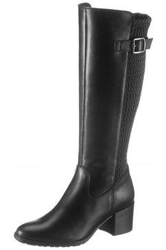 tamaris laarzen »paula« zwart