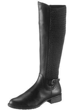tamaris laarzen »indah« zwart