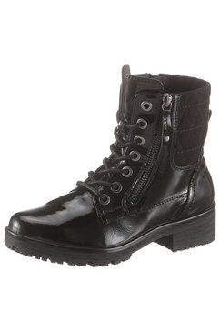 jana hoge veterschoenen zwart