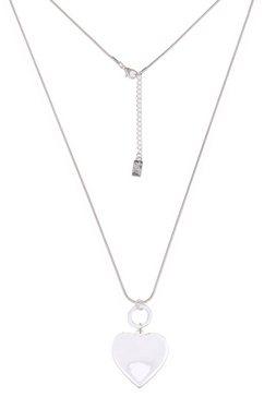 leslii ketting met hanger »trend-hart in zilver, 220115895« zilver