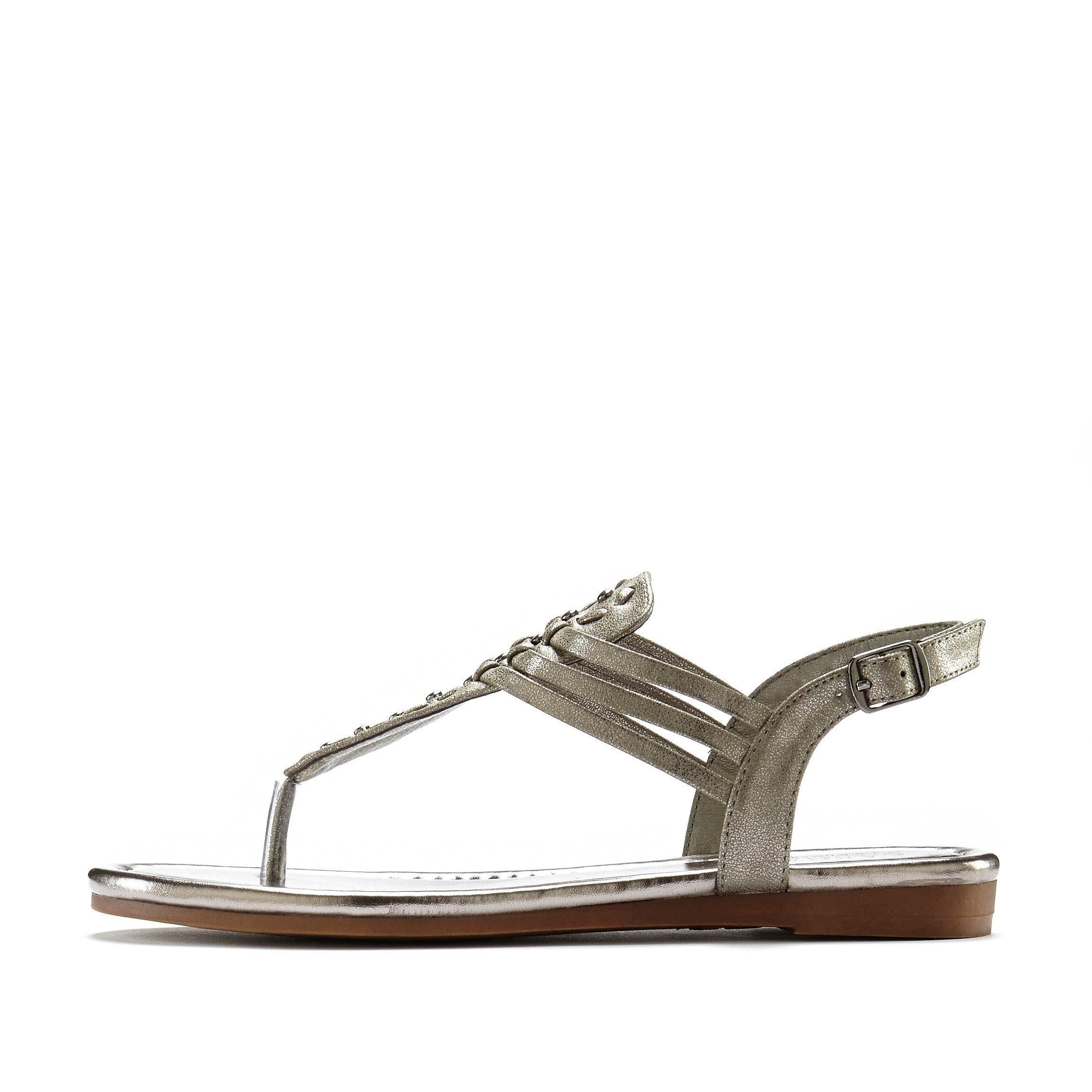 Lascana Sandaaltjes In Metallic-look Nu Online Bestellen - Geweldige Prijs