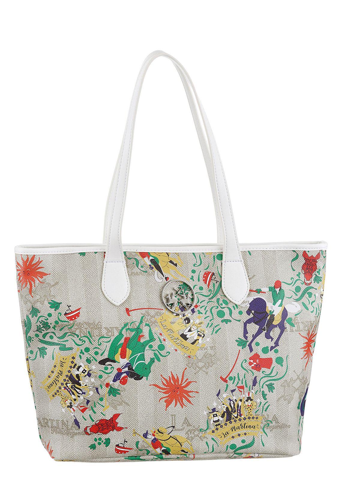 La Martina Shopper Mariana Online Shop Multicolour mm8asRFa