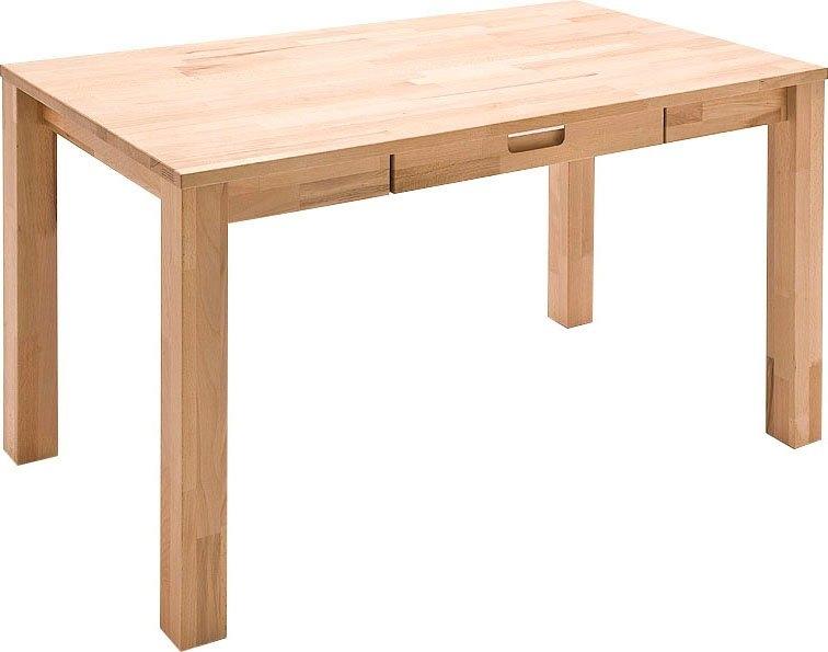 MCA furniture Bureau Cento 2 Massief beukenkernhout, belastbaar tot 40 kg in de webshop van OTTO kopen