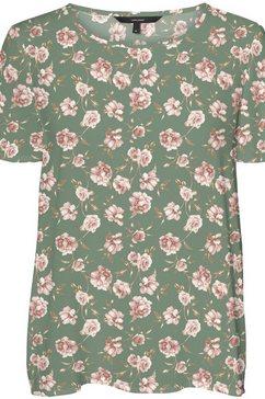 vero moda shirtblouse vmsimply easy top groen