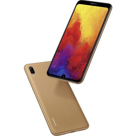 Huawei Y6 2019 Smartphone Dual-SIM 32 GB 15.2 cm (6. inch) 13 Mpix Android 9.0 Amber Brown